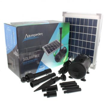 Solarfree 1000C Solar Pump 980Lph 1m Head Aquagarden Water Feature Pond Solar