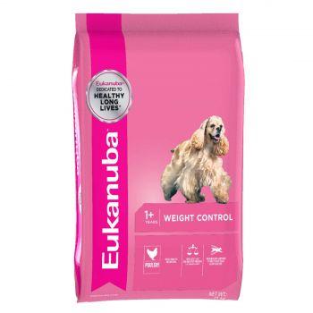 Eukanuba Weight Control 15Kg Pet Premium Food Balanced Diet Healthy Weight