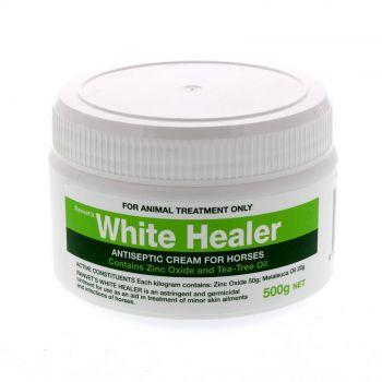 White Healer Antiseptic Cream Horse Equine 500g Anti Bacterial Fungal Germicidal