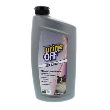 Urine Off Cat and Kitten Odour and Stain Remover 946ml Bio Pro