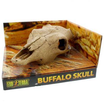 Exo Terra Buffalo Skull Medium Realistic Secure Hiding Spot Reptile Amphibians