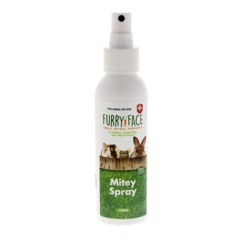 Furry Face Mitey Spray 125ml Small Animal Health Aid Guinea Pig Rodent Mouse
