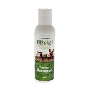 Furry Face Tearless Shampoo 125ml Small Animal Non-Irritant Australian Made
