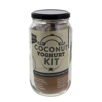 Mad Millie Coconut Yoghurt Jar Kit Probiotic Original & Chocolate Coconut Styles