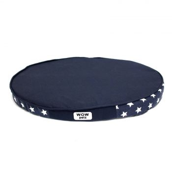 Dog Bed Oval Stars Medium Wow Petz Strong Durable Material Soft Filling