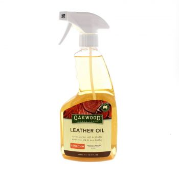 Oakwood Leather Oil 500ml Restore Nourish Old Saddlery Leather Accessories