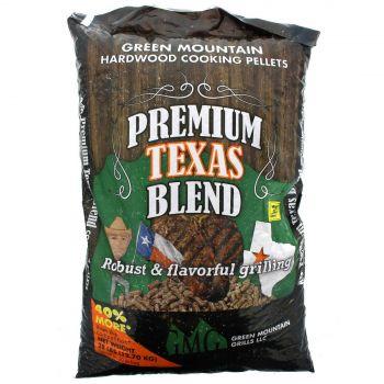 Green Mountain Grills Premium Texas Blend 12.7kg Black Oak Hickory Mesquite