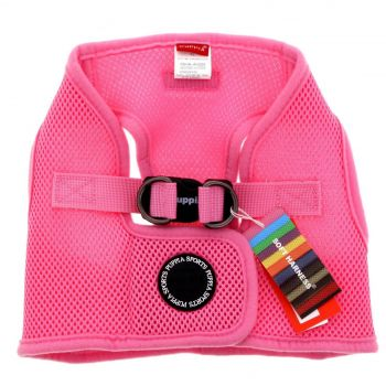Puppia Dog Puppy Soft Vest Pink XL Polyester Air Mesh Superior Comfort