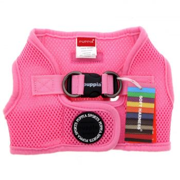 Puppia Dog Puppy Soft Vest Pink LARGE Polyester Air Mesh Superior Comfort