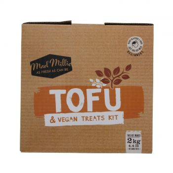 Mad Millie Tofu and Vegan Treats Kit Makes 2kg Includes Recipes All In One Craft
