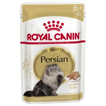Royal Canin Feline Persian 85g Cat Food Wet In Gravy Premium Quality