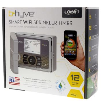 Orbit B-Hyve 12 Station Wifi Controller Outdoor Irrigation Mobile App Enabled