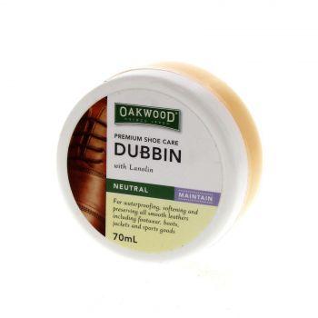 Oakwood Dubbin Neutral 70ml Bainbridge For Waterproofing Softening Preserving