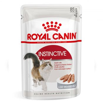 Royal Canin Instinctive Adult Loaf 85g Cat Food Wet Loaf Style Premium Food