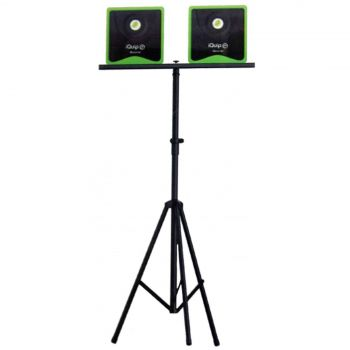 iBeamie Tripod 1.1m - 2.1m For LED Lights iQuip Easy Folding Design Work Tradie