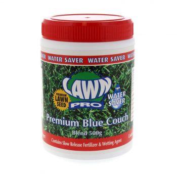 Lawn Pro Premium Blue Couch Blend Grass Seed 500Gm EMS Garden Premium Quality