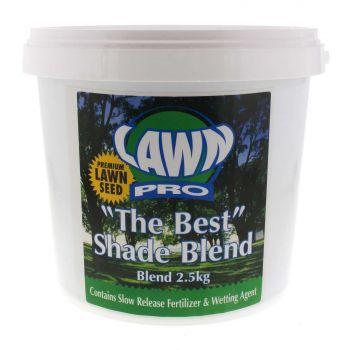 Lawn Pro The Best Shade Blend Grass Blend Seed 2.5Kg EMS Garden Premium Quality