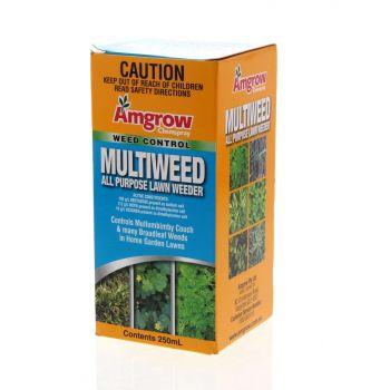 Amgrow Multiweed All Purpose 250ml Weed Killer Multipurpose Bindii Oxalis Etc
