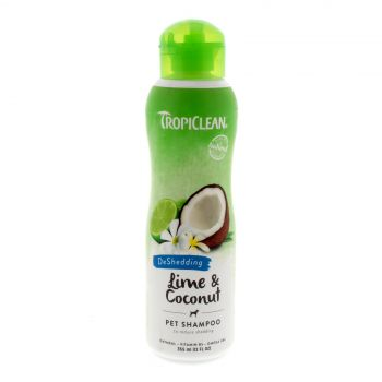 Tropiclean Lime & Coconut Shampoo 355ml Healthy Hair Pet Treatment