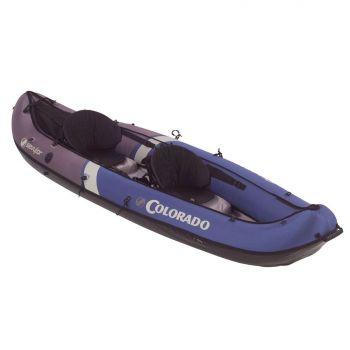 Coleman Sevylor Kayak Colorado 2 Person Inflatable Heavy Duty Camping Outdoors