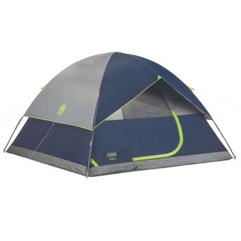 Coleman Tent Sundome 6 Person Dome Tent Camping Outdoors WeatherTec System