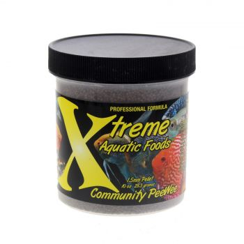 Xtreme Fish Food Commpeewee 1.5mm Pellets 283G Premium Quality Made In USA