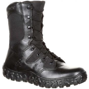 Rocky S2V Predator Duty Military Black Triple Stitched USA Designed Boots AU7.5