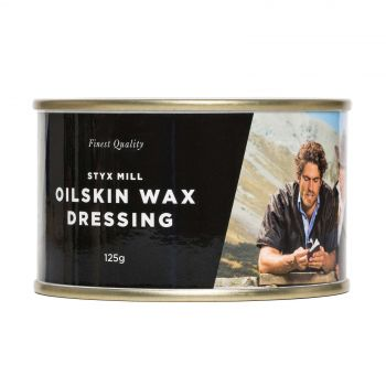 Styx Mill Oilskin Replenishing Wax  125G Increase Longevity Made In New Zealand