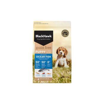 Black Hawk Grain Free Dried Dog Food; BlackHawk Grain Free Dried Dog Food; Puppy Dog Food; All Breed Puppy Dog Food; Dry Dog Food; Ocean Fish Dog Food