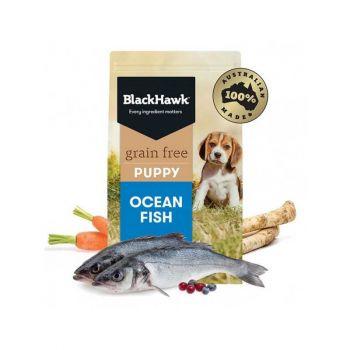 Black Hawk Puppy Grain Free Ocean Fish 7Kg