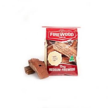 Firewood Bagged Australian Redgum 15kg