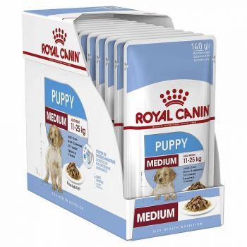 Medium Puppy 140G Pouch Royal Canin