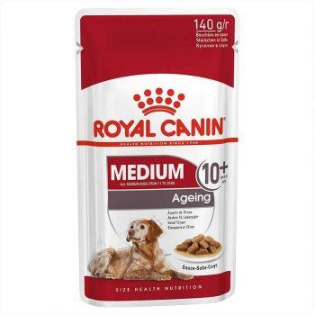 Medium Ageing 10+ 140G Pouch Royal Canin
