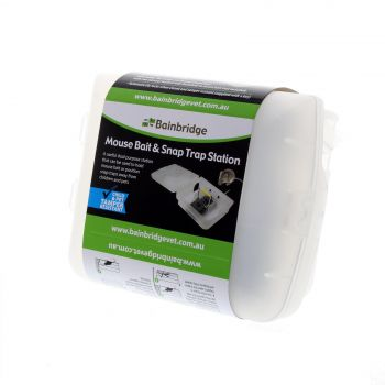 Mouse Bait And Snap Trap Station Pest Control Safe Easy To Use Bainbridge