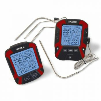 Remote Bbq Thermometer W/4 Probes Maverick