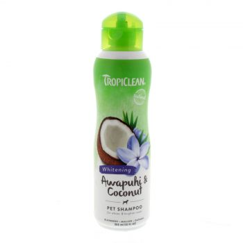 Tropiclean Awapuhi & Coconut Shampoo 355ml Healthy Hair Pet Treatment
