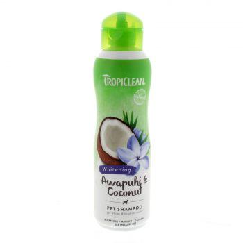 Tropiclean Awapuhi & Coconut Shampoo 355ml Healthy Hair Pet Treatment