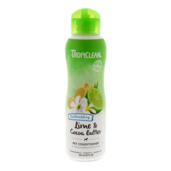 Tropiclean Lime & Cocoa Conditioner 355ml Healthy Hair Pet Treatment