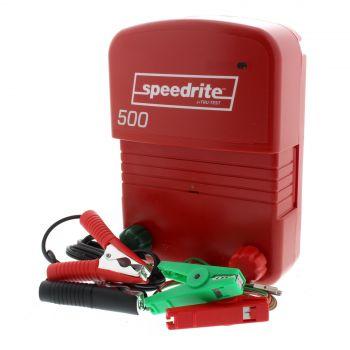 Energiser 500 Mains & Battery Speedrite Fence Fencing Farming 3 Year Warranty