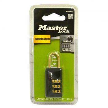 Master Lock Padlock Master Reset Combo 20mm Theft Lock Security Protection