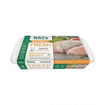 Raw Chicken Dog 900G Nas