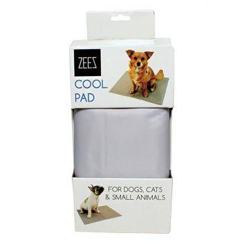 Zeez Cool Pad Silver Small 40cm X 50cm Dog Pet Bed Cooling Mat Absorb Heat