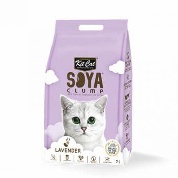 Kit Cat Soya Clump Litter Lavender 7L