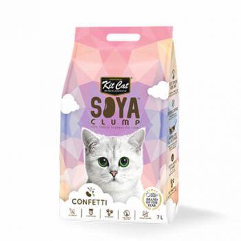 Kit Cat Soya Litter Confetti 7L
