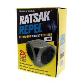 Ratsak Repel Ultrasonic Rodent Repeller Pro Pest Control Humane Safe