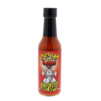 Shut Up Sauce Hot Chilli Sauce Authentic Spicy Food Carolina Reaper