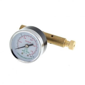 Spunding Valve Adjustable Pressure Relief Gauge New Design Homebrew