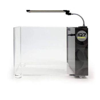 Dymax Iq7 Mini Acrylic Aquarium Crystal Wht 18Lt