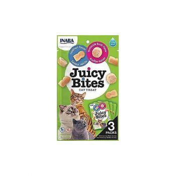 Cat Treat Juicy Bites Homestyle Broth & Calamari 34G