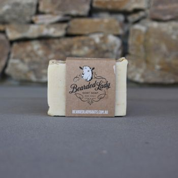 Lime & Coconut Twist Bearded Lady Goat Soap